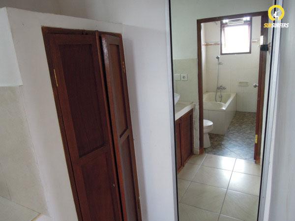 Ванная комната в гестхаусе Suarsena