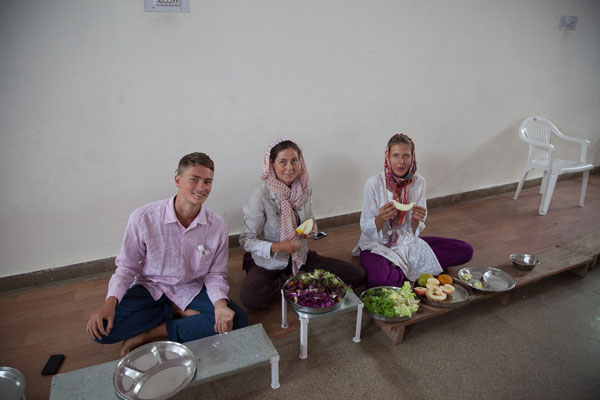 Завтрак у намдхари сикхов
