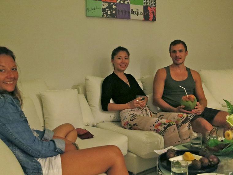Наши новые друзья на Пхукете — Влад и Яна