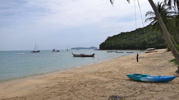 Пляж в Панве