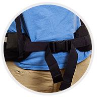 Набедренный пояс туристического рюкзака