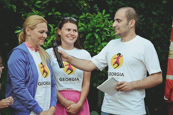 Слёт cансёрферов в Грузии