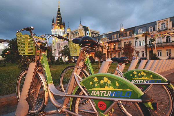Батуми — Площадь Европы