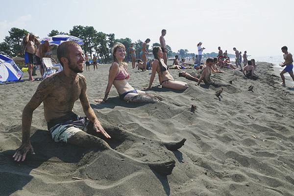 Магнитные пески Уреки