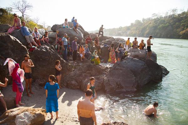 Слёт cансёрферов в Индии (Ришикеш)