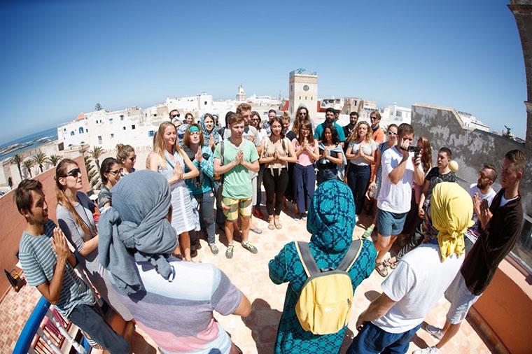 Слёт сансёрферов в Марокко