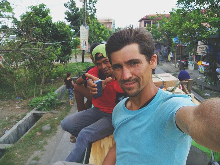 Слёт cансёрферов на Филиппинах