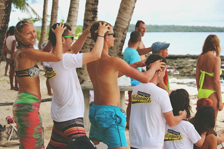 Слёт сансёрферов на Филиппинах