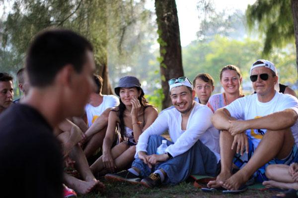 Слёт cансёрферов в Таиланде
