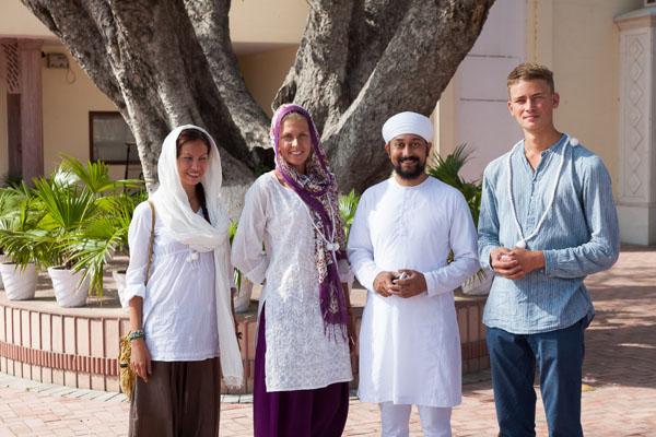 Сикх Гурмукх — чистый вегетарианец с рождения