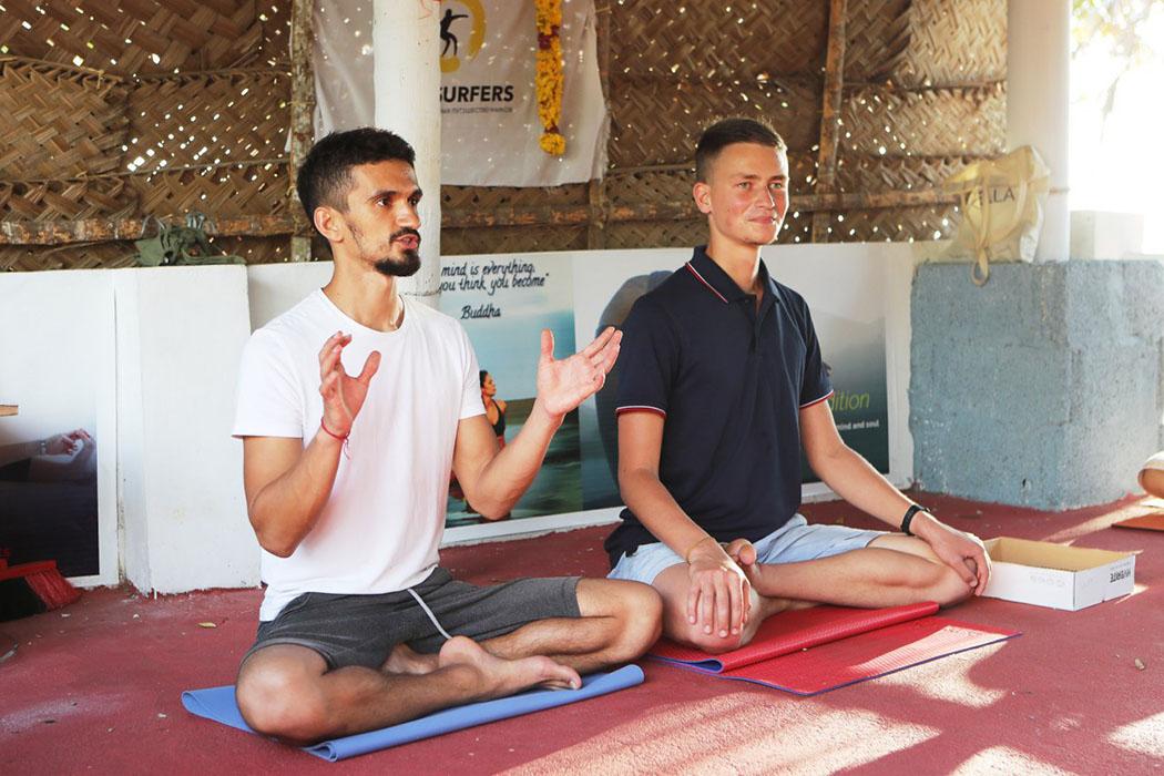 Йога-ретрит в Индии, Роман Нарейко и Марат Хасанов