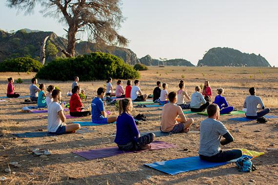 Йога на Университете #Sunsurfers в Турции