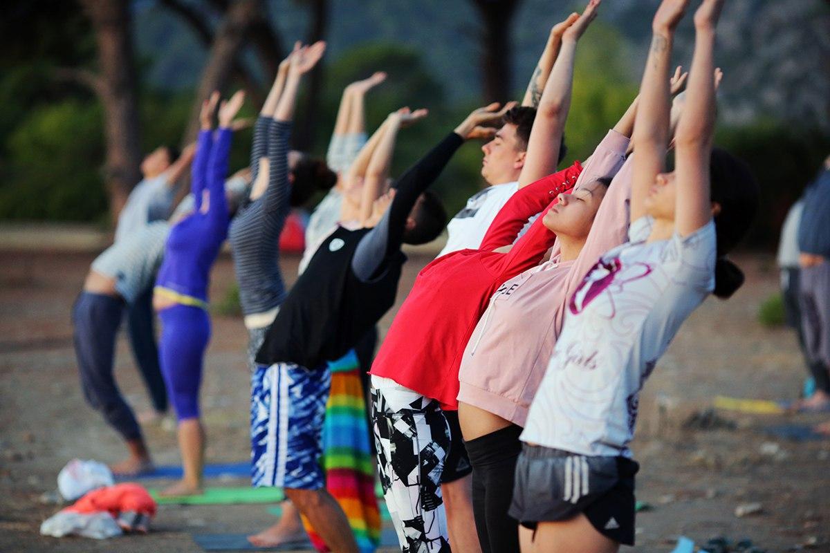 Йога марафон от #Sunsurfers