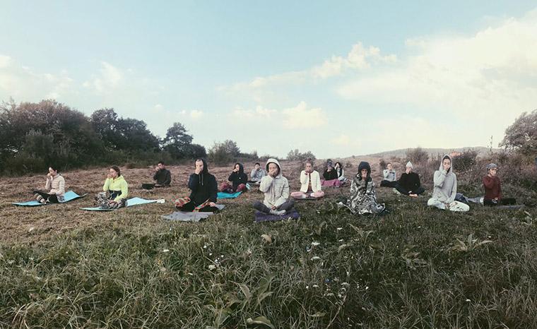 Экодеревня #Sunsurfers в Грузии